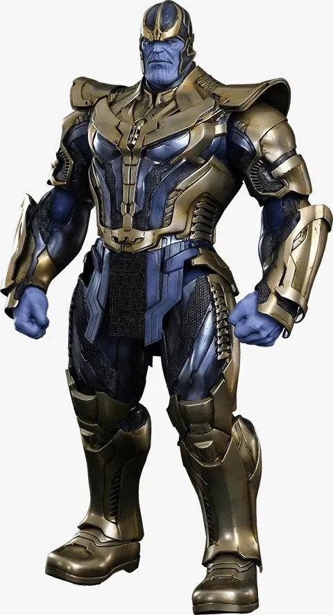 Action Figure Thanos Guardiões da Galáxia Guardians of the Galaxy MMS280 Escala 1/6 - Marvel Comics