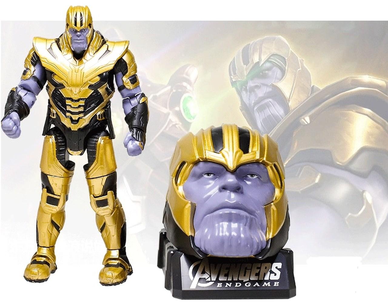 Action Figure Thanos: Vingadores Ultimato Avengers End Game - Marvel - MKP