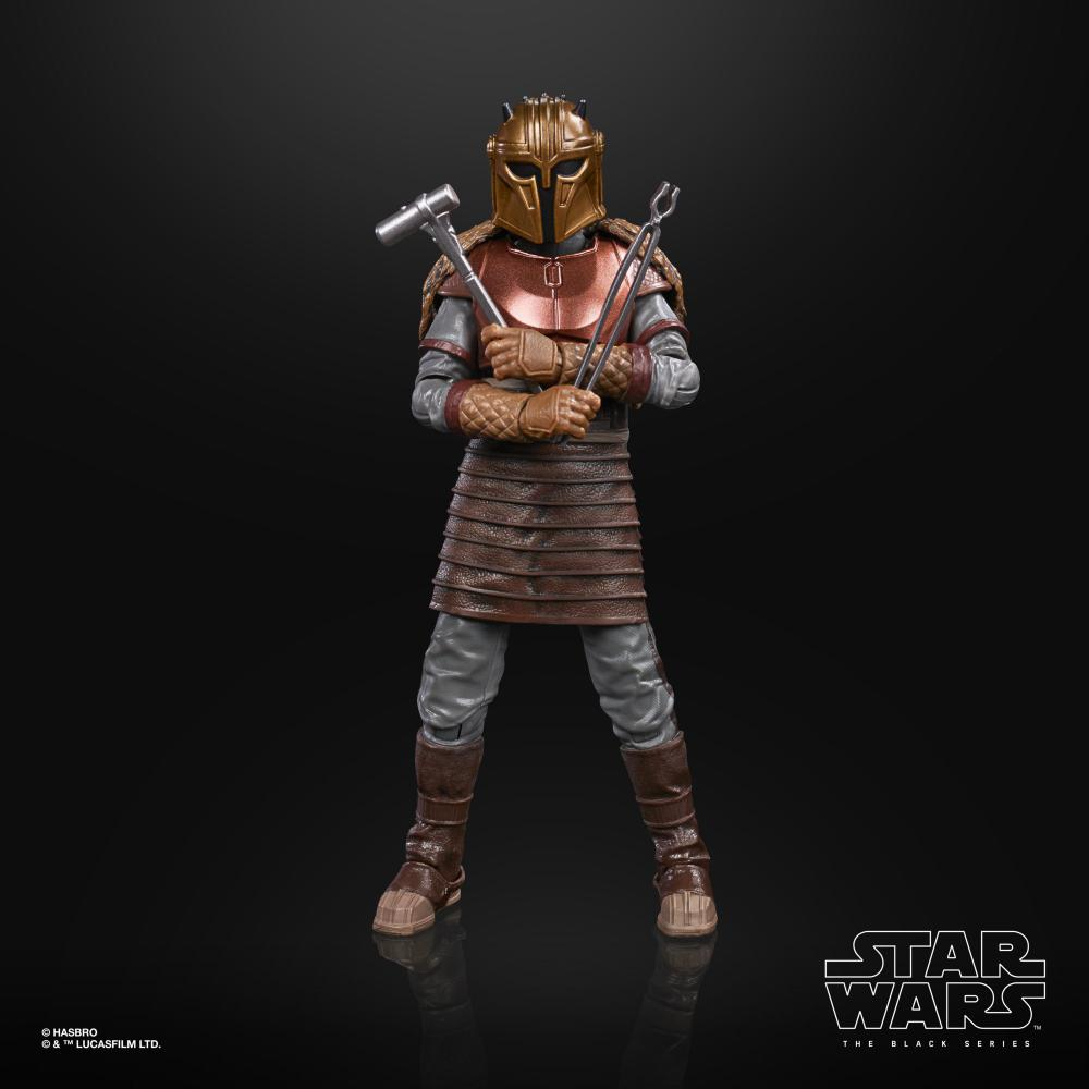 Action Figure The Armorer: Star Wars The Black Series The Mandalorian E9362 - Hasbro