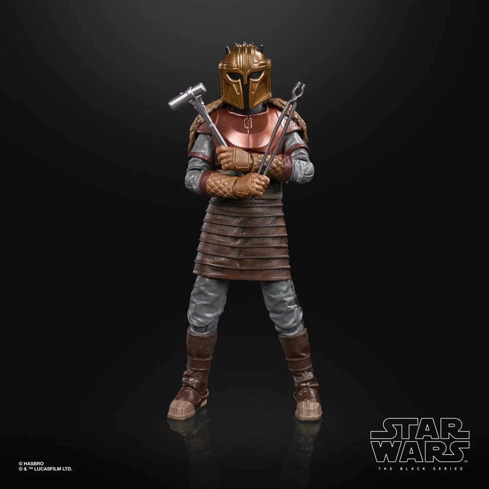 Action Figure The Armorer: Star Wars The Mandalorian - Hasbro