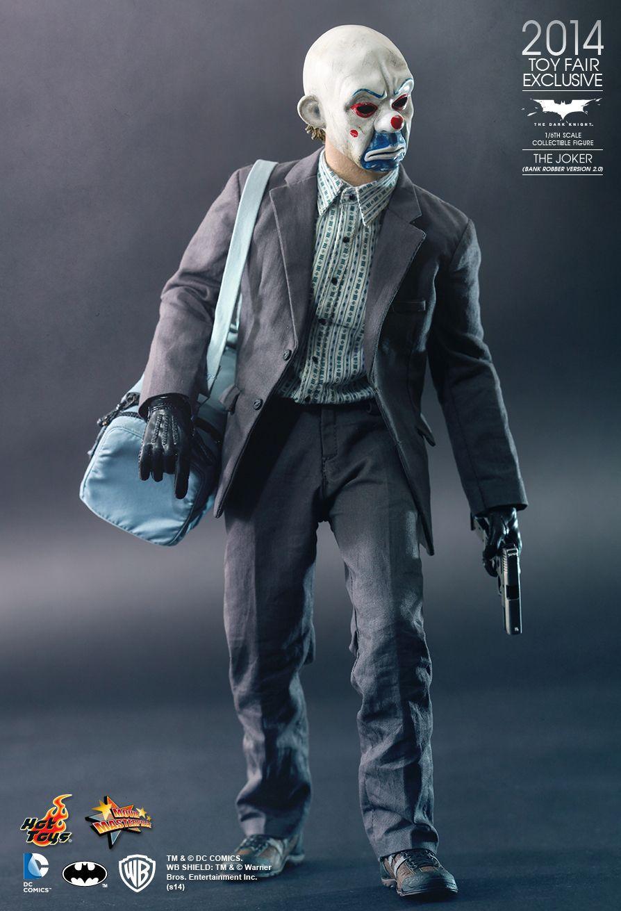 Action Figure THE JOKER: Coringa: (BANK ROBBER VERSION 2.0) DC Comicis Escala 1/6  - Hot Toys