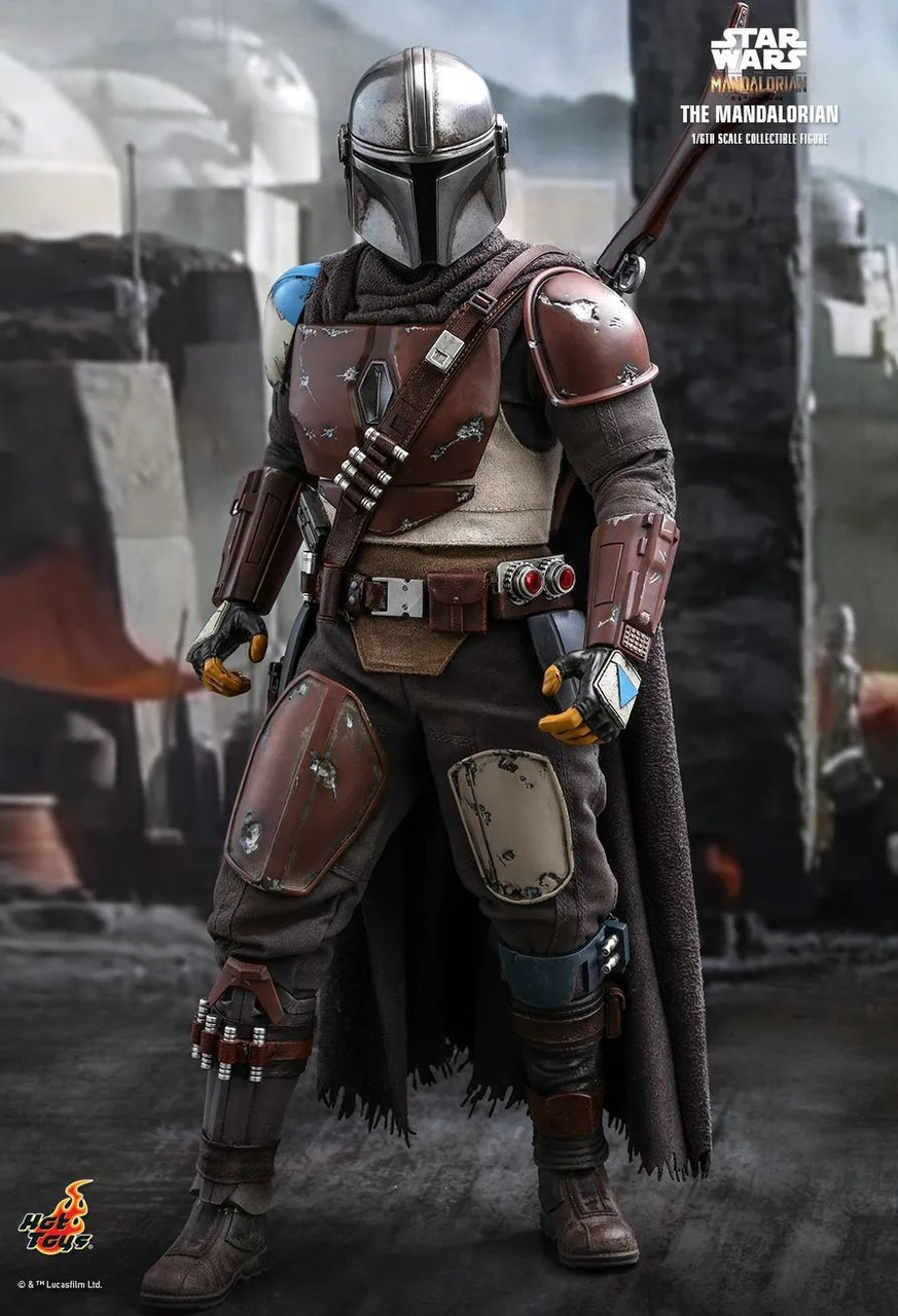 Action Figure The Mandalorian: The Mandalorian Star Wars Series (TMS007) Escala 1/6 - Hot Toys