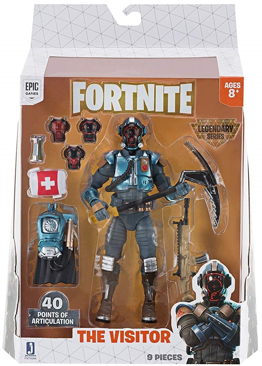 Action Figure The Visitor: Fortnite Legendary Series