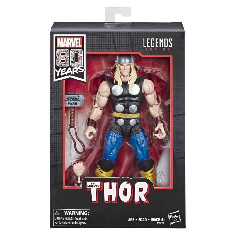 Action Figure Thor: Marvel Legends (80th Anniversary) Boneco Colecionável - Hasbro