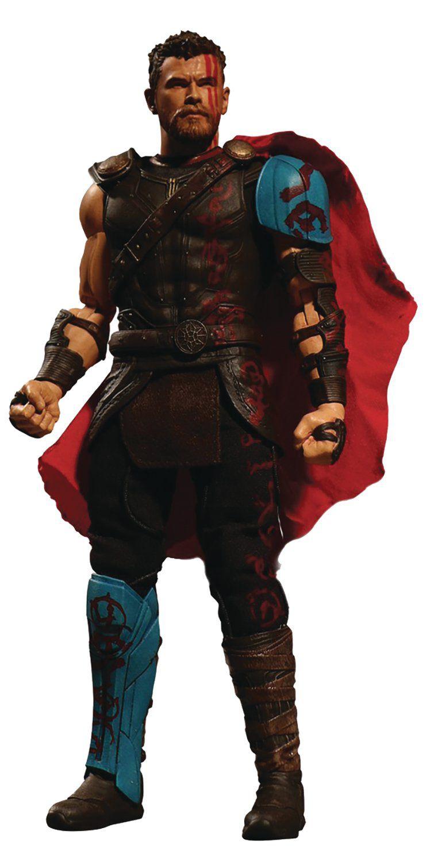 Action Figure Thor: Thor Ragnarok (One:12 Collective) Escala 1/12 - Boneco Colecionável - Mezco
