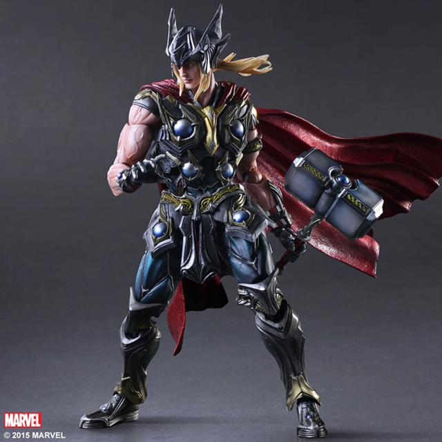 Action Figure Thor Vingadores Avengers Marvel Kai Escala 1/6 Play Arts - MKP