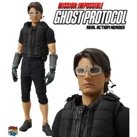 Action Figure Tom Cruise Missão Impossível (Ghost Protocol) Ethan Escala 1/6 - Medicom Toy