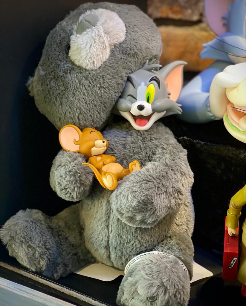 Action Figure Tom e Jerry Urso Ted Escala 1/6 - Soap Studio