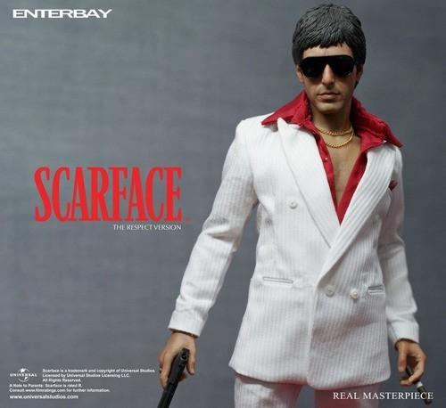 Action Figure Tony Montana: Scarface Escala 1/6 (The Respect Version) - Enterbay