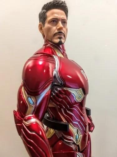 Action Figure Tony Stark Homem de Ferro Iron Man Mark 50: Vingadores Guerra Infinita Escala 1/6 - Empire Toys