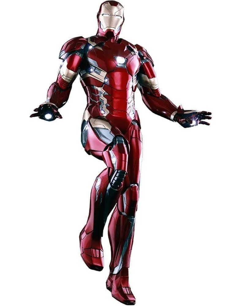 Action Figure Tony Stark Homem de Ferro Iron Man Mark XLVI: Capitão América: Guerra Civil Escala 1/6 - Empire Toys