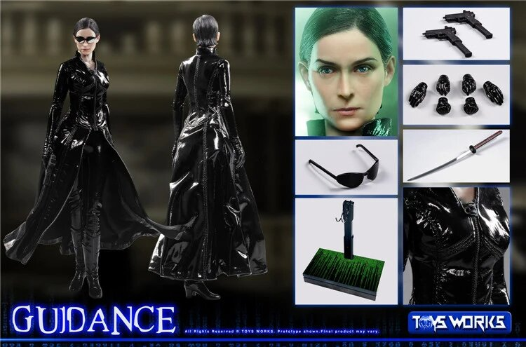 Action Figure Trinity: ''Guidance'' Matrix Escala 1/6 - Toys Works