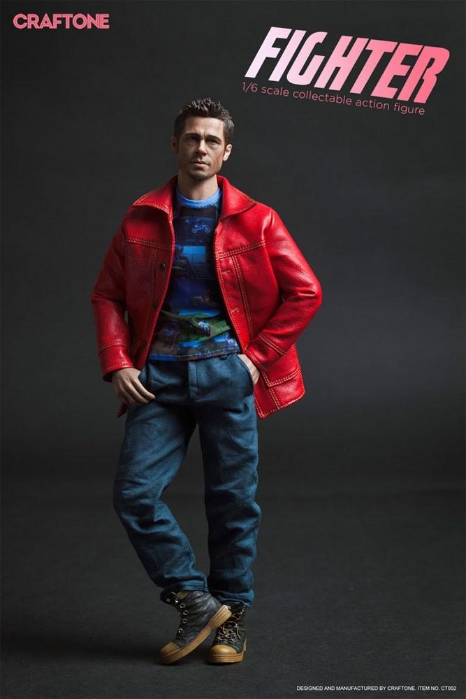 Action Figure Tyler Durden (Brad Pitt): Clube da Luta (Fight Club) Escala 1/6 - Craftone