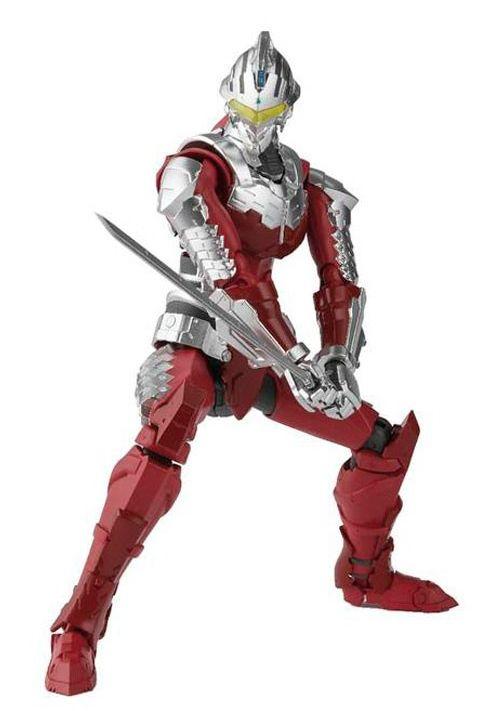 Action Figure Ultraman (Ver.7): Ultraman Netflix Animation (S.H.Figuarts) Boneco Colecionável - Bandai