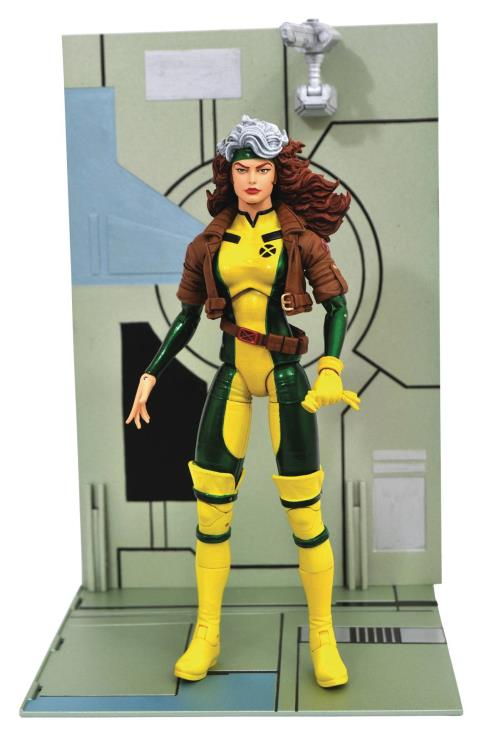 Action Figure Vampira (Rogue): X-Men (Marvel Select) - Boneco Colecionável - Diamond Select (Apenas Venda Online)