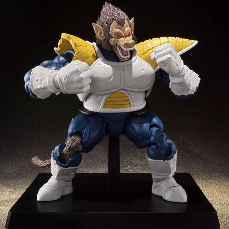 Action Figure Vegeta Oozaru (Great Ape Vegeta): Dragon Ball Z - S.H.Figuarts - Bandai