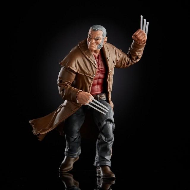 Action Figure Velho Logan e Gavião Arqueiro: Marvel Legends Series - Hasbro