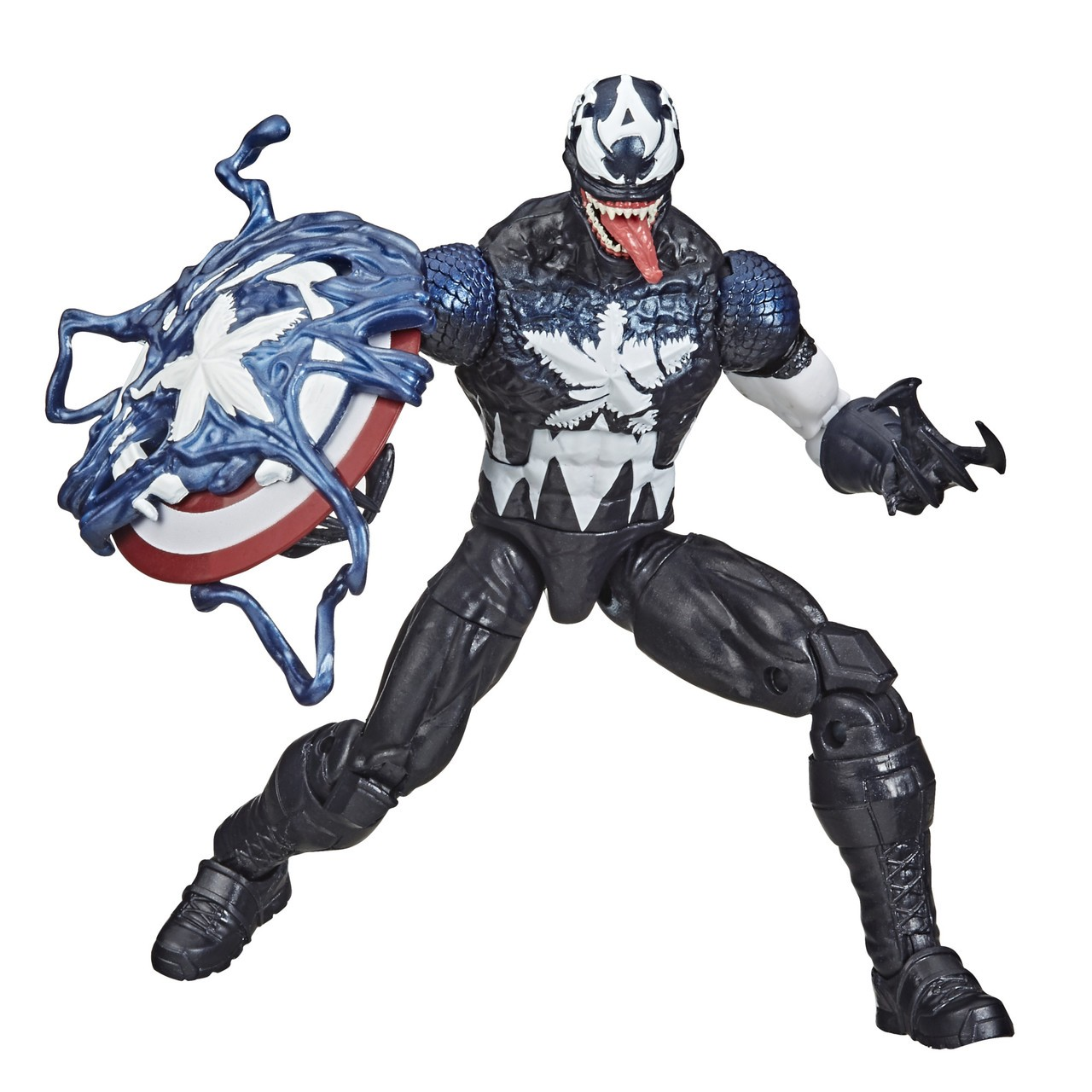 Action Figure: Venom (Variante Capitão America): Marvel Legends Series - Hasbro
