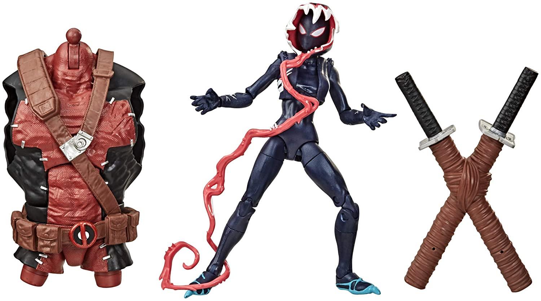 Action Figure Venom (Variante Ghost-Spider): Marvel Legends Series - Hasbro