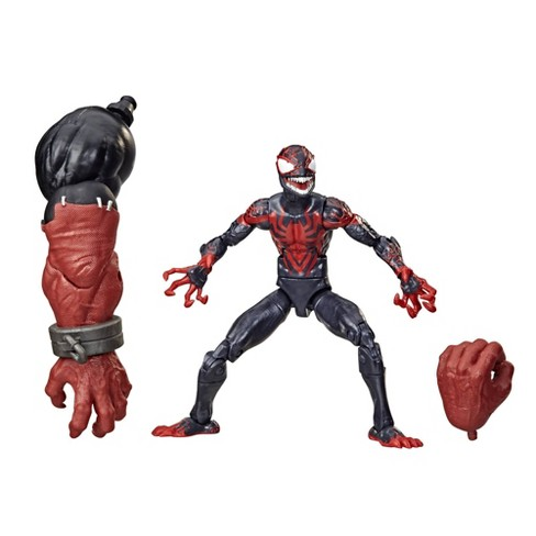 Action Figure Venom (Variante Spider-Man Miles Morales): Marvel Legends Series - Hasbro