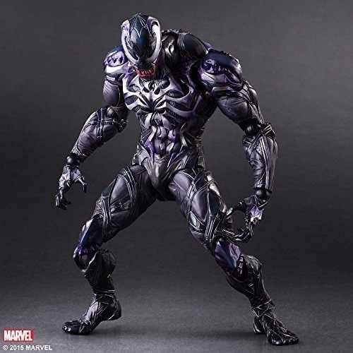 Action Figure Venom Vingadores Avengers Marvel Kai Escala 1/6 Play Arts - EVALI