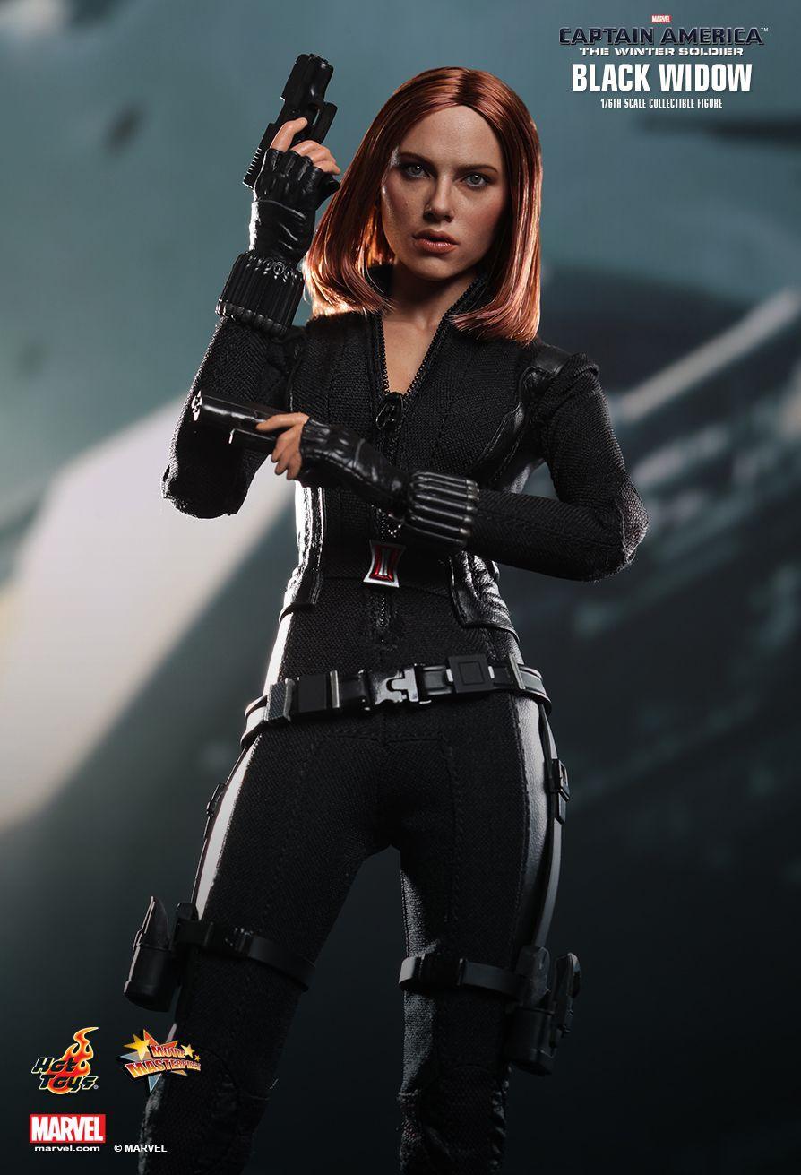 Action Figure Viúva Negra (Black Widow): Capitão América Soldado Invernal (The Winter Soldier) Escala 1/6 (MMS239) - Hot Toys - CDL