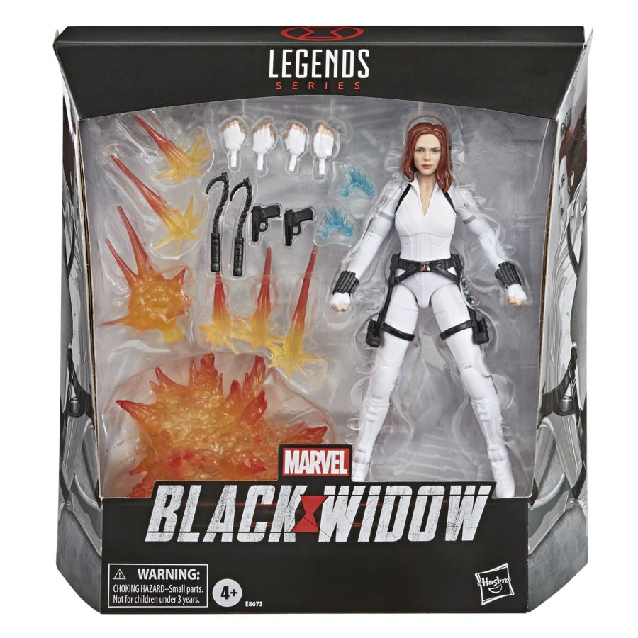 Action Figure Viúva Negra (Black Widow): Marvel Legends Series - Hasbro
