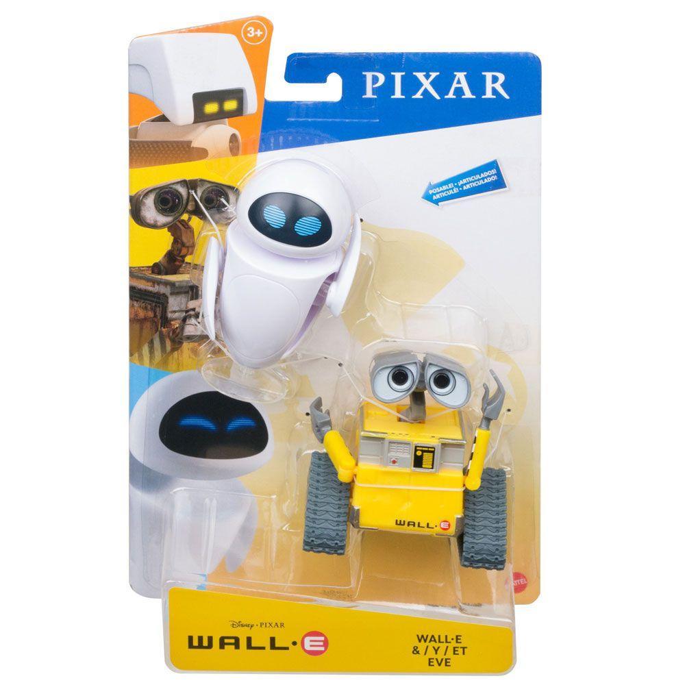 Action Figure Wall-e e Eva: Wall-e - Mattel