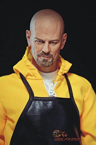 Action Figure Walter White (Yellow Hazmat): Breaking Bad Escala 1/6 - Wolfking