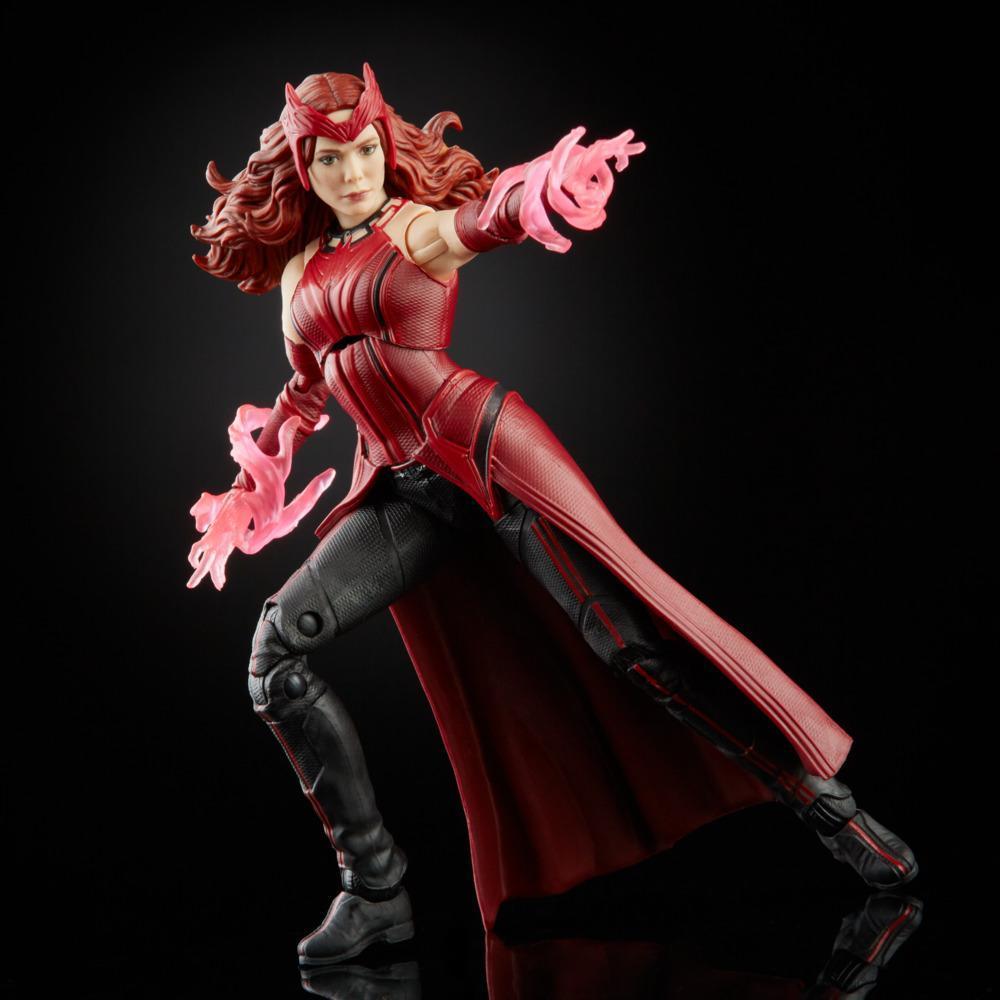 Action figure Wanda Maximoff Feiticeira Escarlate Scarlet Witch: WandaVision Marvel Legends Series F0324 Disney+ - Hasbro