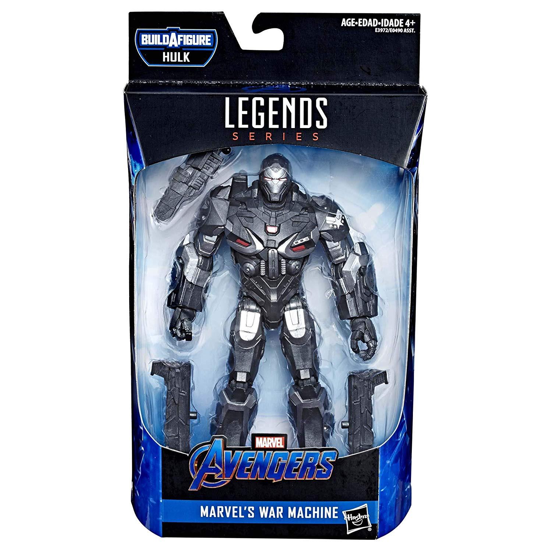 Action Figure War Machine: Vingadores Ultimato Marvel Legends Series