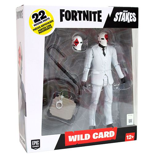 Action Figure Wild Card: Fortnite (Red Suit) - Mcfarlane Toys