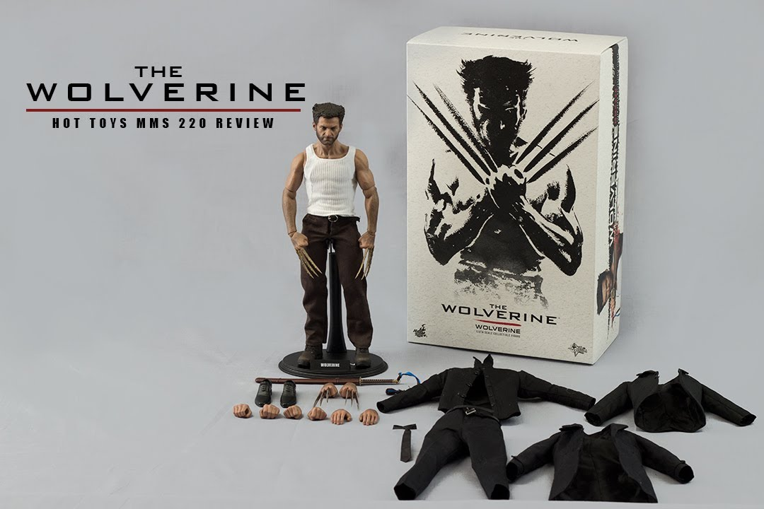 Action Figure Wolverine (Logan): Wolverine Imortal (Escala 1/6) MMS220 - Hot Toys