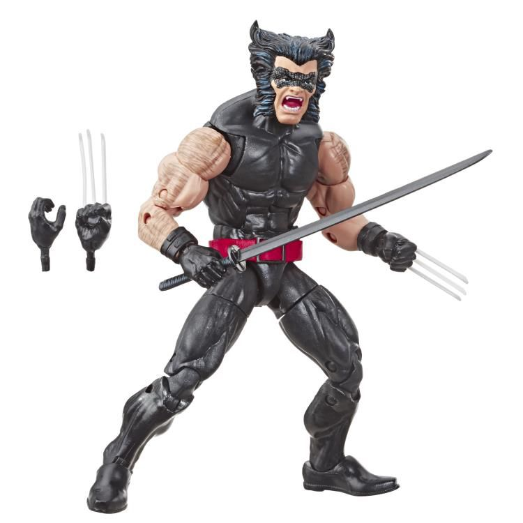 Action Figure Wolverine: The Uncanny X-Men Marvel Legends (80th Anniversary) Boneco Colecionável - Hasbro (Apenas Venda Online)