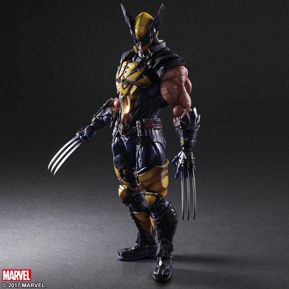 Action Figure Wolverine Vingadores Avengers Marvel Kai Escala 1/6 Play Arts - EVA