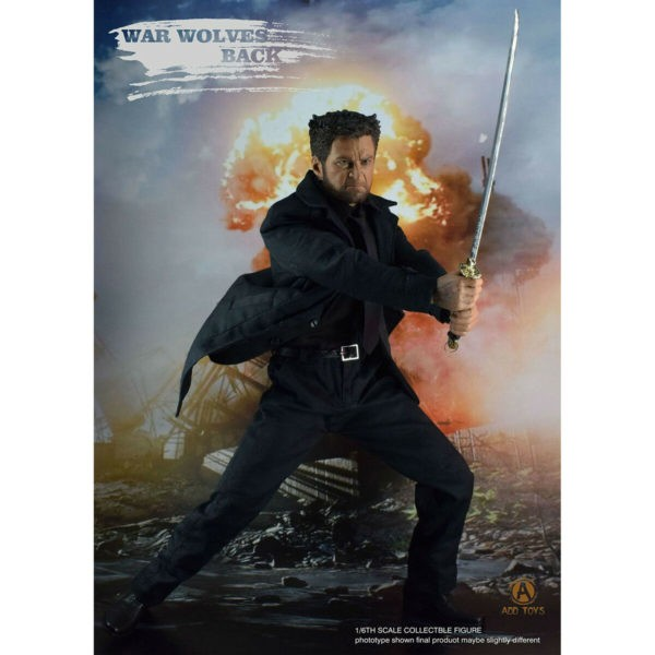 Action Figure Wolverine: ''War Wolves Back'' Wolverine - Imortal Escala 1/6 - Add Toys