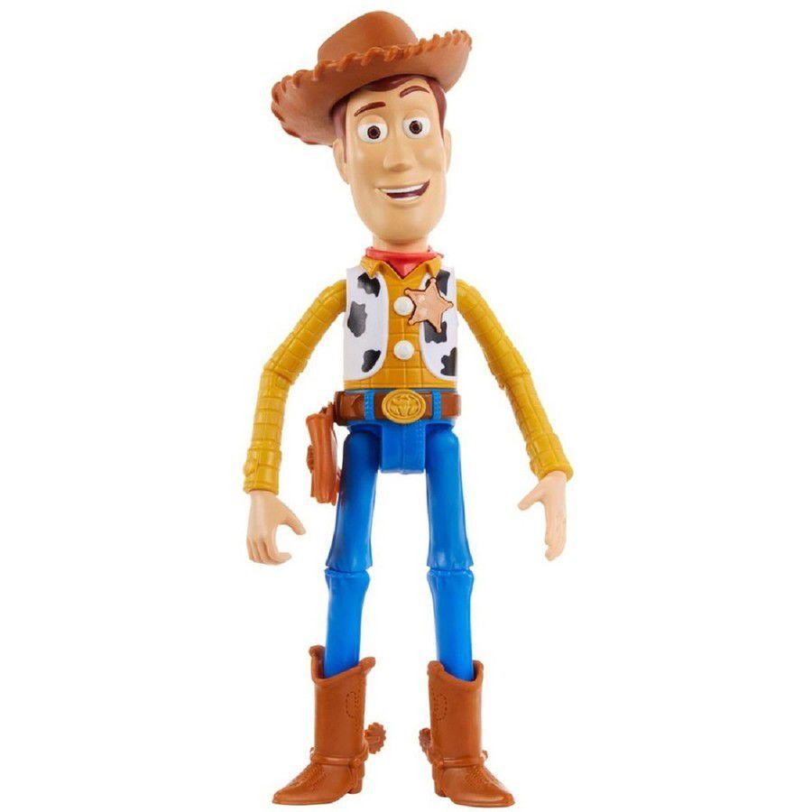 Action Figure Woody (Talking): Toy Story 4 Boneco Colecionável - Mattel (Apenas Venda Online)