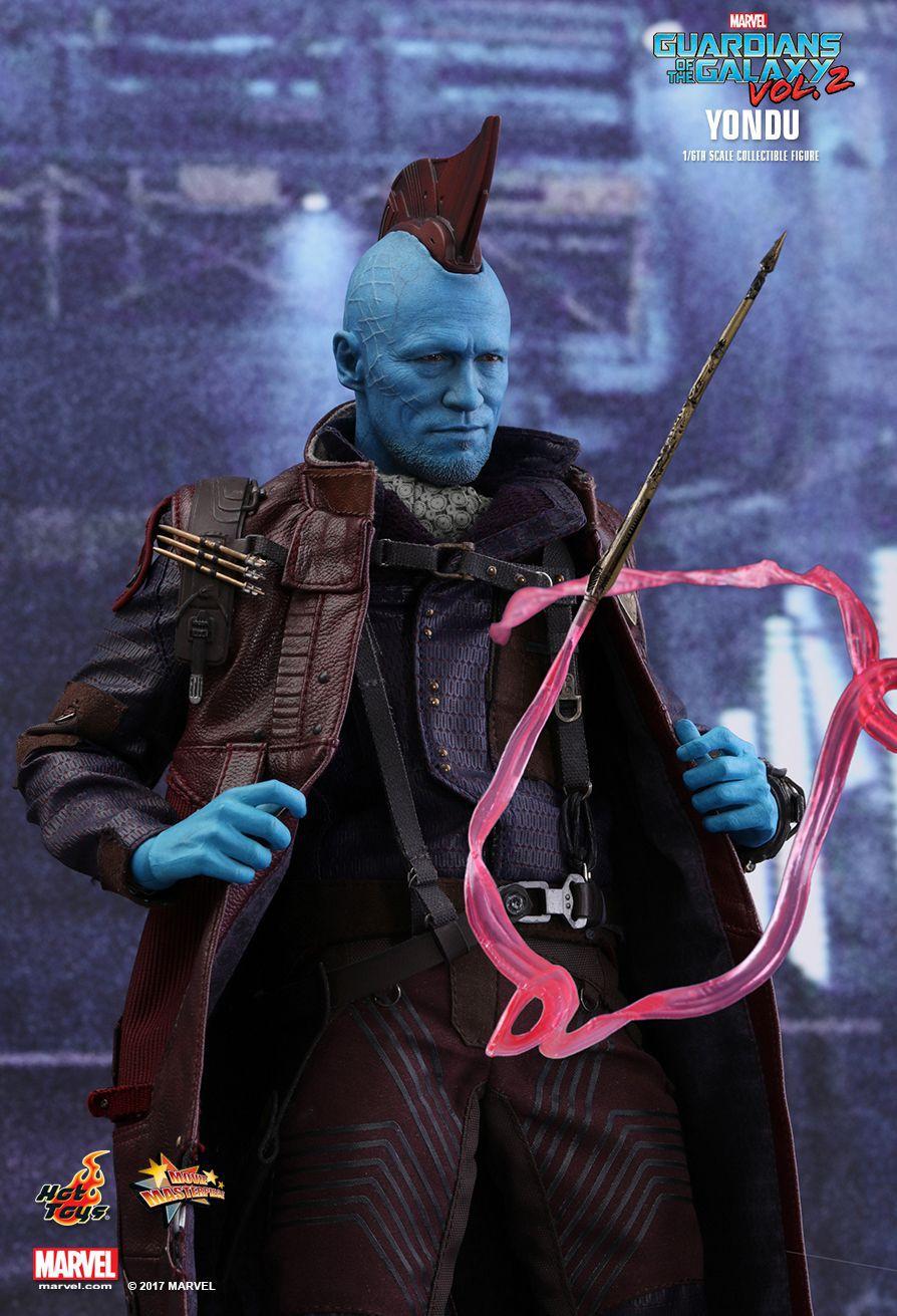 Action Figure Yondu: Guardiões da Galáxia Vol. 2 (Guardians of the Galaxy Vol. 2) (MMS436) Escala 1/6 - Hot Toys