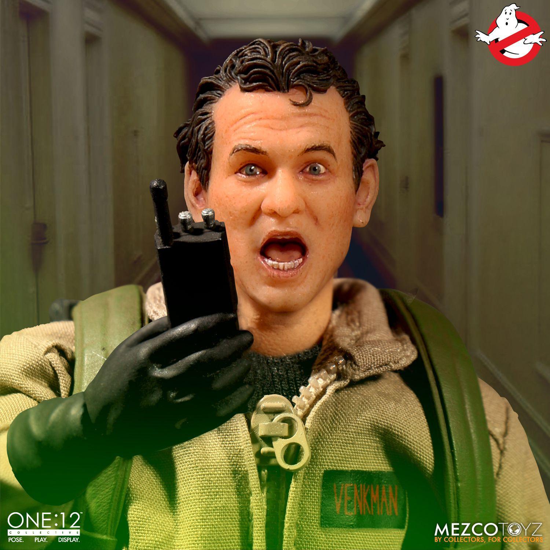 Action Figures Ghostbusters (Deluxe Box Set): Ghostbusters (One:12 Collective) Escala 1/12 - Boneco Colecionável - Mezco
