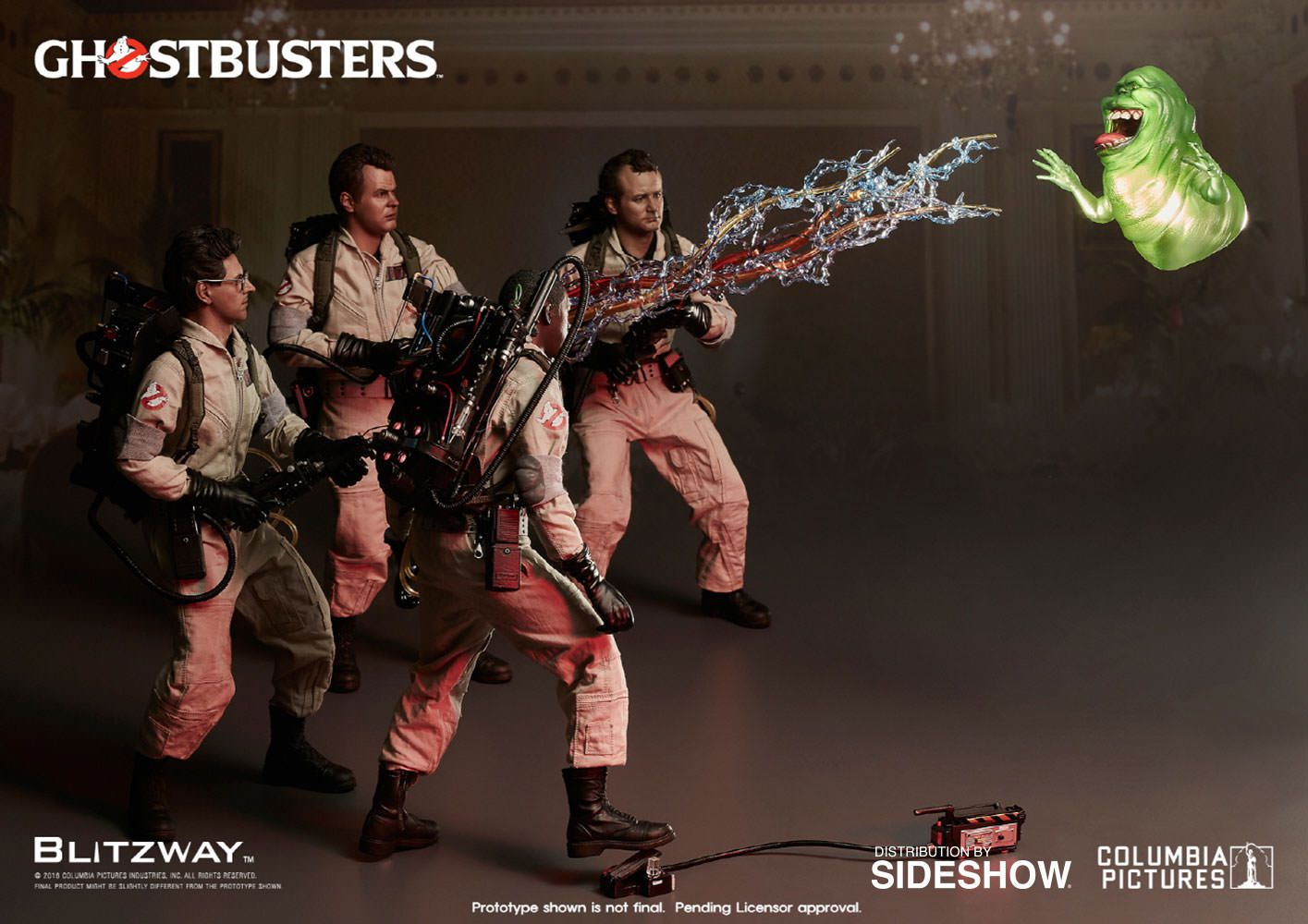 Action Figures Os Caças Fantasmas (Special Pack): Ghostbusters (1984) (BW-UMS10106) - Blitzway