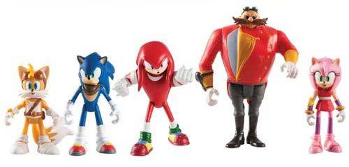 Action Figures Sonic Boom (Pack): Sonic The Hedgehog Bonecos Colecionáveis - TOMY