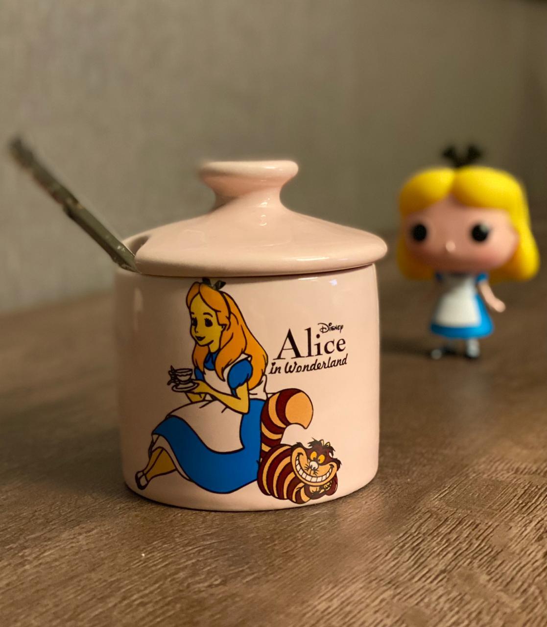 Açucareiro Alice: Alice No País Das Maravilhas