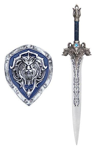Adaga Com Escudo Aliança: World Of Warcraft