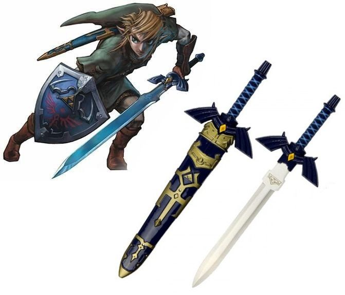 Adaga Link (Master Sword): The Legend of Zelda