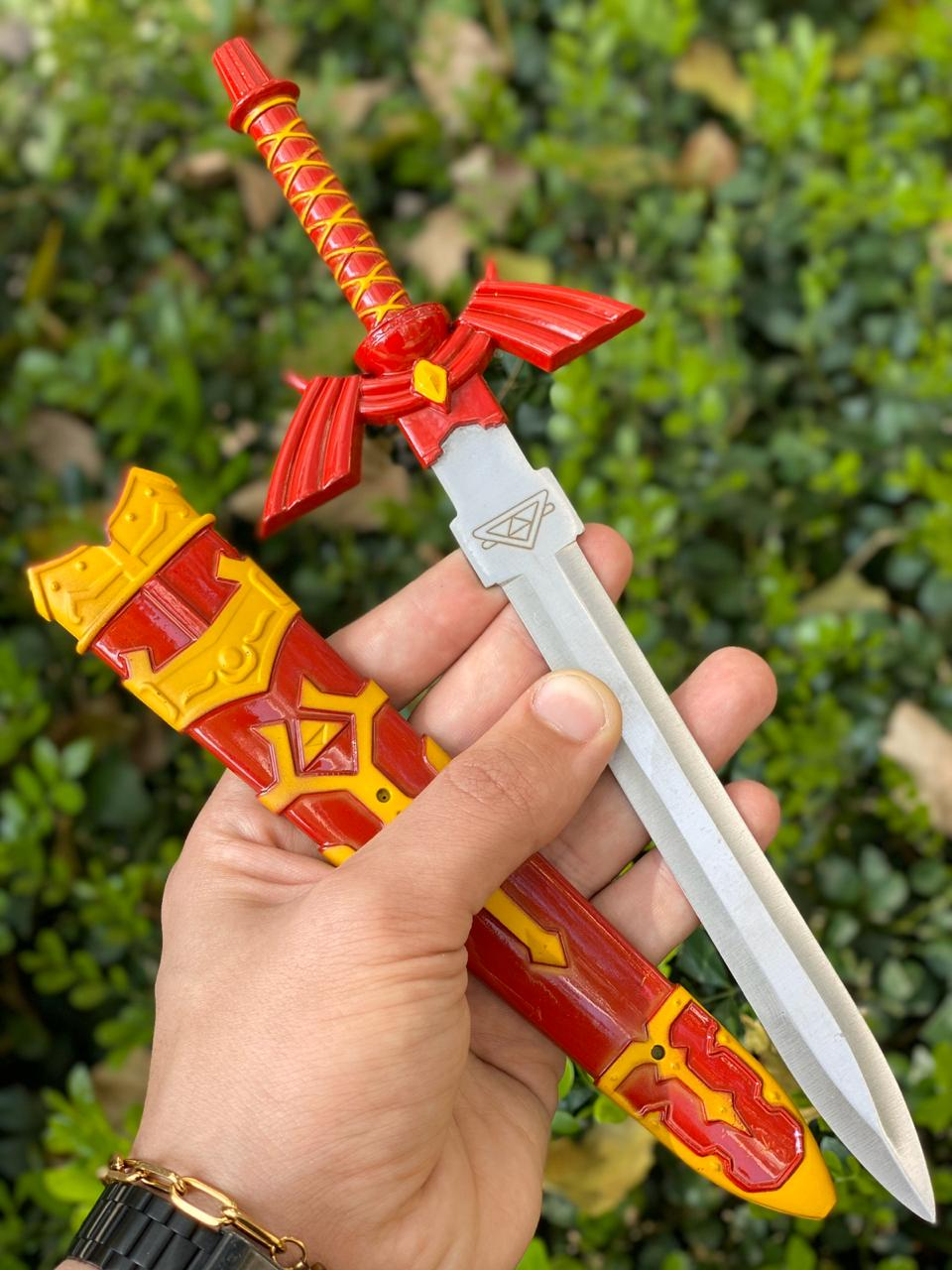 Adaga Vermelha Link (Master Sword): The Legend of Zelda
