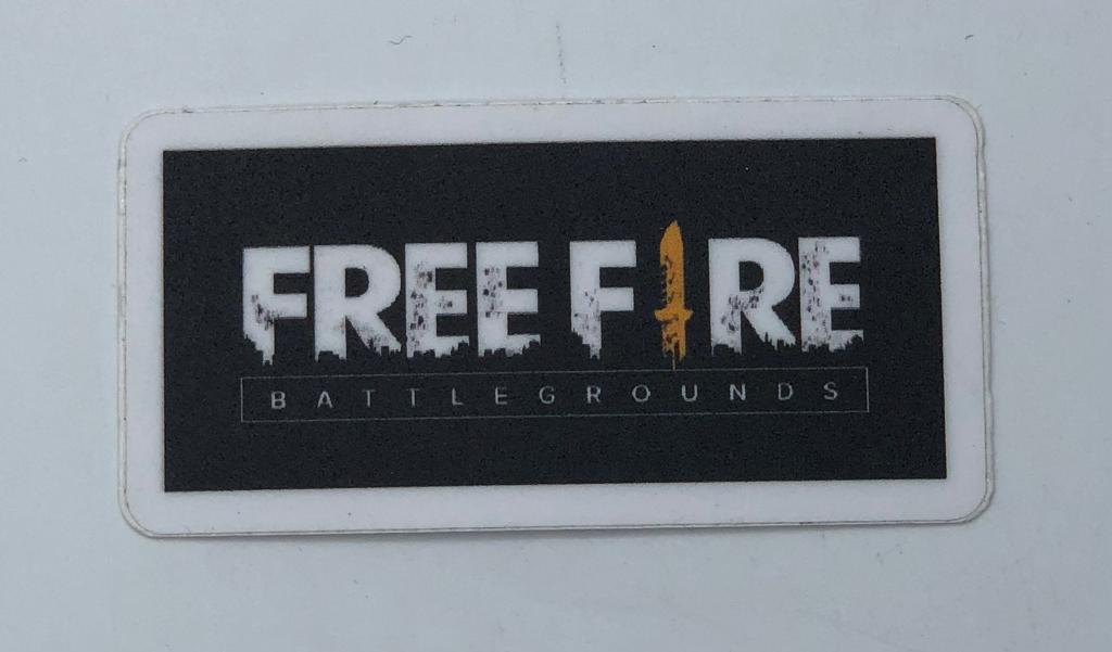 Adesivo (Sticker) Free Fire