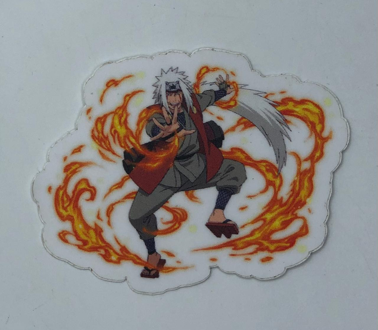Adesivo (Sticker) Jiraya: Naruto Shippuden