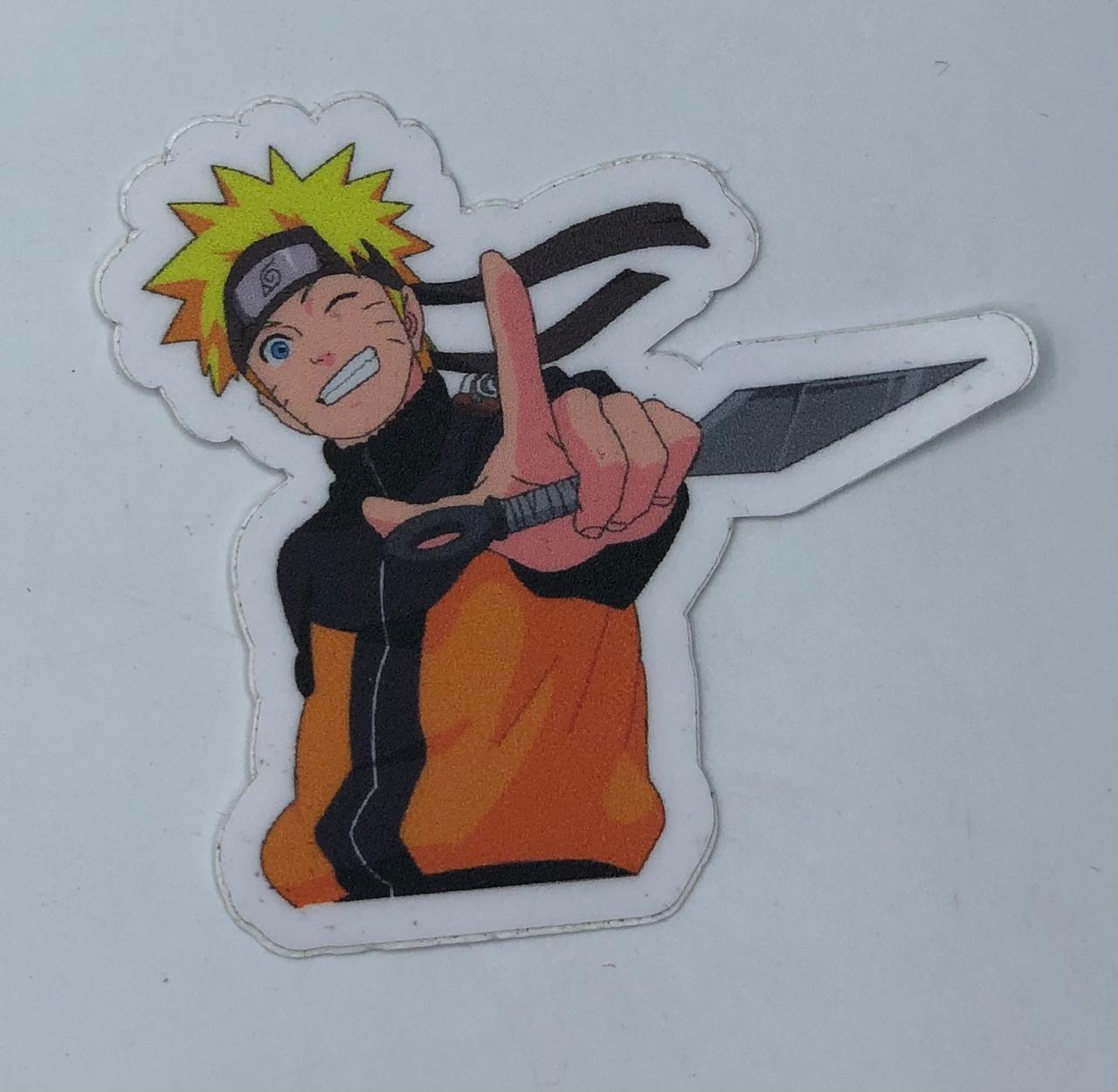 Adesivo (Sticker) Naruto (Adulto): Naruto Shippuden  - Toyshow Geek e Colecionáveis Tudo em Marvel DC Netflix Vídeo Games