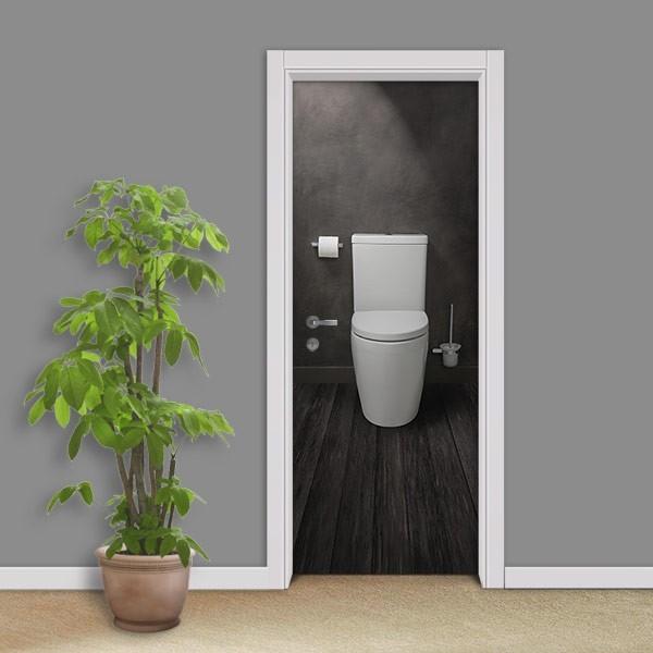 Adesivo (Sticker) Para Porta: Banheiro