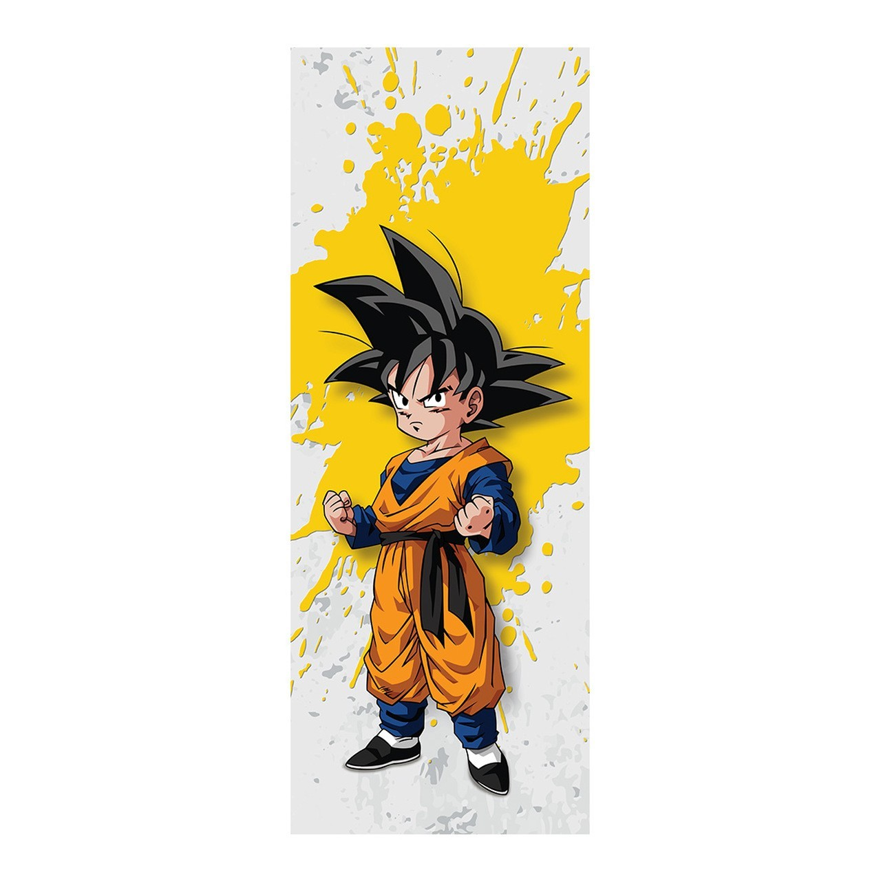 """Adesivo (Sticker) Para Porta """"Goten"""": Dragon Ball Z - Exclusivo"""